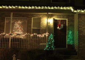 tomato cage light christmas trees
