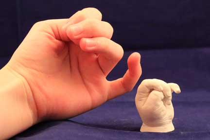 Baby Hand And Foot Molds Make And Preserve A Precious